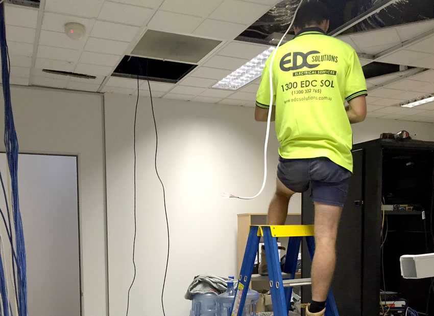 How Can Electrical Contractors Help You Improve Office